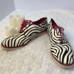 Black and White Zebra Print Shoes